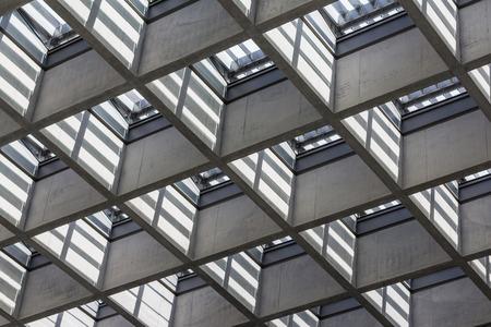 Architettura dettaglio - astratto sfondo immobiliare Archivio Fotografico - 59982251