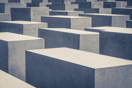 jews: Memorial to the Murdered Jews of Europe, also known as the Holocaust Memorial in Berlin.