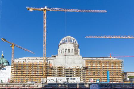 Reconstruction of the Berlin Palace (City Palace)  Berlin City Palace.
