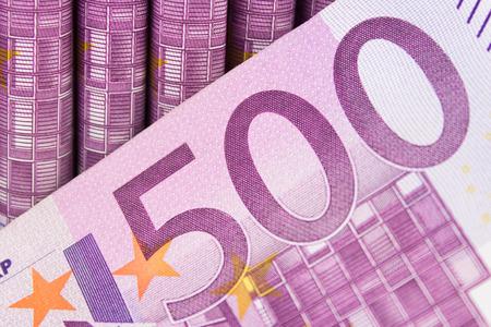 500 EURO bill - European currency cash money