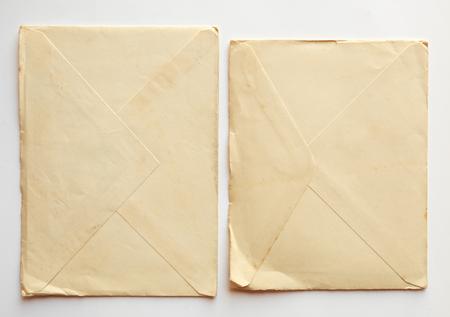 sobres para carta: empty old letter envelopes , vintage paper