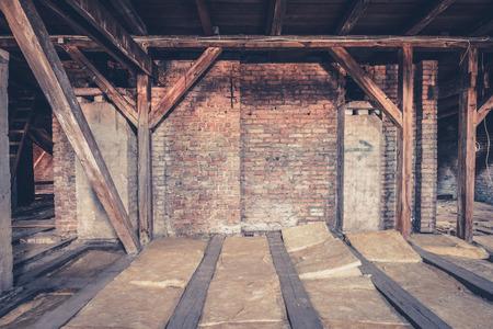 attic: attic loft  roof construction