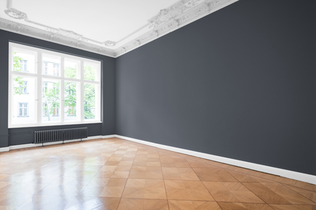 Empty room in new apartment after renovation