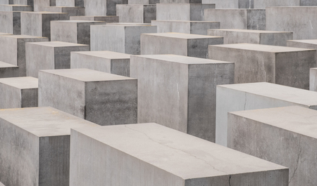 murdered: The memorial of the Murdered Jews in Europe, also known as the Holocaust Memorial in Berlin. Editorial