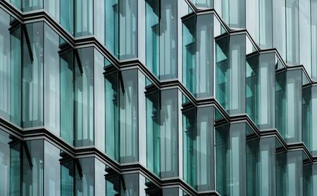 modern office building glass facade