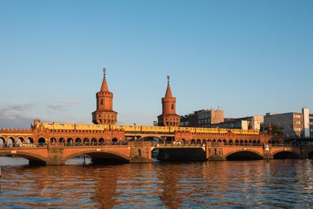 Oberbaum Bridge, Berlin, Germany - Oberbaumbruecke in Berlin, Germany