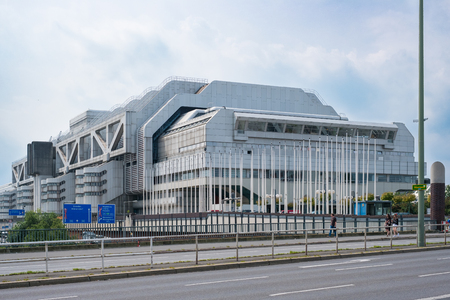 The International Congress Center (ICC) in Berlin, Germany