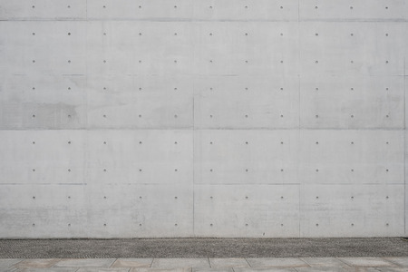 walkway / sidewalk and exposed concrete wall background - Stock fotó