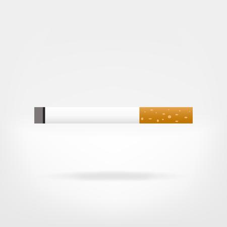 cigarette illustration vector graphic - flat icon Banque d'images - 102641441