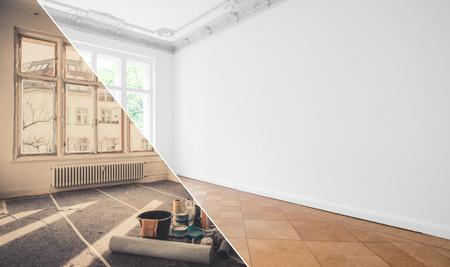 Wohnungsrenovierung, Wohnungsrenovierung, Zimmermodernisierung
