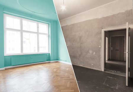 flat renovation, apartment refurbishment, room modernization