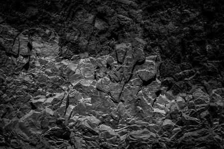 abstract black rock background, natural  stone texture -