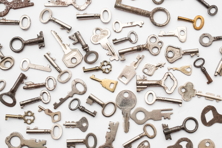 old keys  - small retro key collection, Imagens
