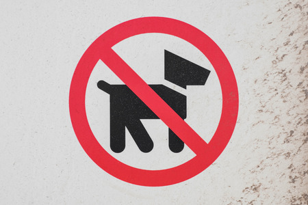 no dogs sign - dogs not allowed symbol, pictogram