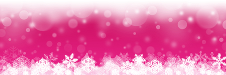 christmas background with white snowflakes illustration