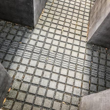 Berlin, Germany - november 2018: Memorial to the murdered Jews of Europe a.k.a. Hocolcaust memorial in Berlin, Germany Stock Photo