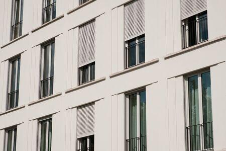 building exterior - house facade real estate concept -