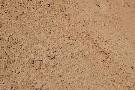 sand closeup for construction material -