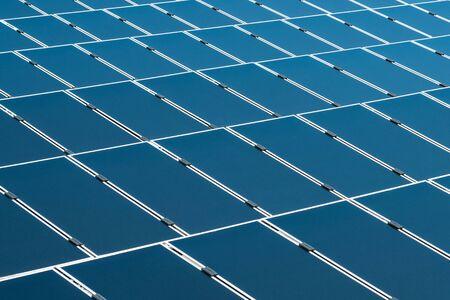 solar panels closeup photovoltaic  power plant