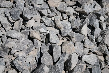 pile of stones,construction material stone - Imagens
