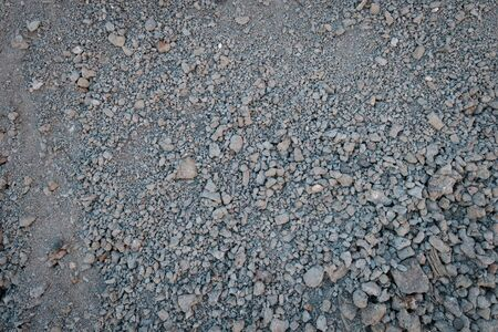 sand, gravel or crushed stones - construction material  -