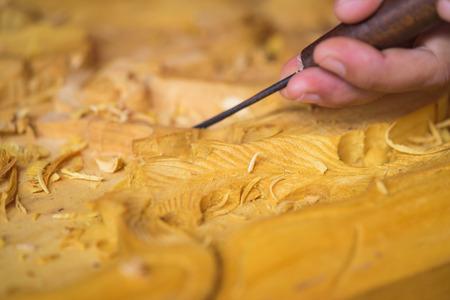 Wood carving in Vietnam
