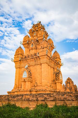 Champa temple - Hidu Tower in Asia