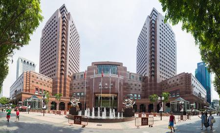 Singapore - May 1 2016: Takashimaya Shopping Mall Orchard Singapore, in Orchard Road Singapore 報道画像