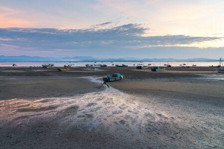Tra Co, tranquil beach in Mong Cai, Quang Ninh, Vietnam