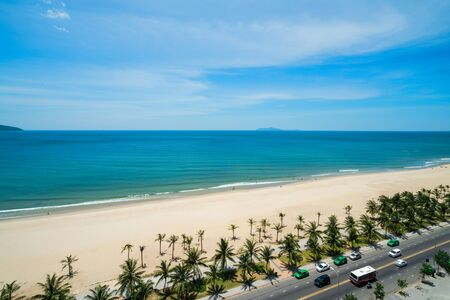 Nha Trang beach, the famous and beautiful travel destination in Vietnam