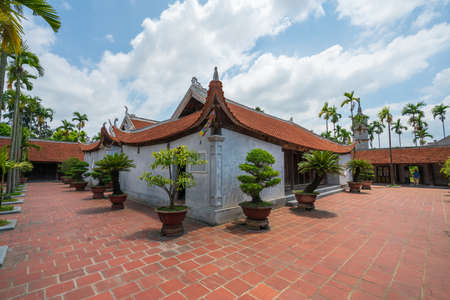 But Thap pagoda, the old temple found in 1037 in Thuan Thanh, Bac Ninh, Vietnam.