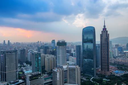guangzhou: guangzhou cityscape