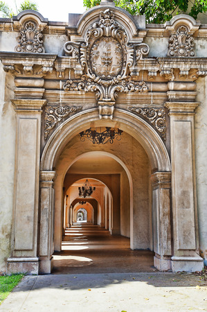 Archway in Balboa Park