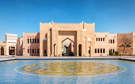 The cultural center Katara in Doha, Qatar