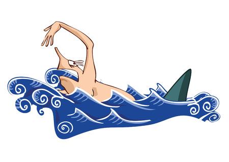 fins: Jaws Illustration