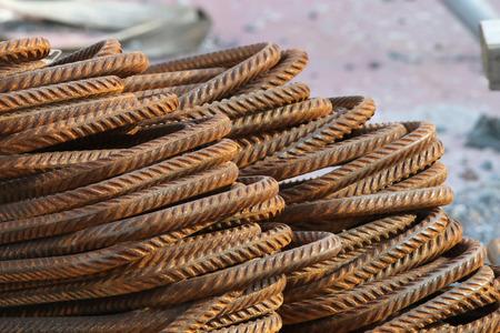corode: A pile of rusty, bent rebars