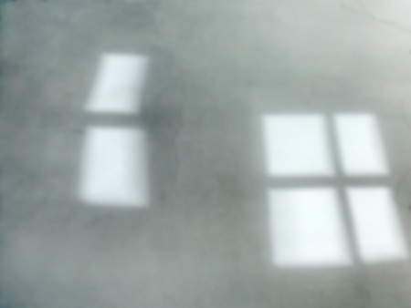 de focused: Background of de focused gray or light green window reflections of the sun