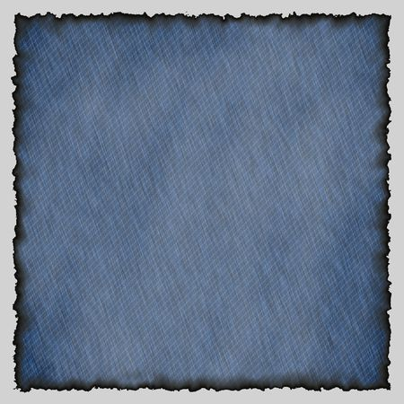 blue jeans texture with burned edges Stock Photo - 5721015
