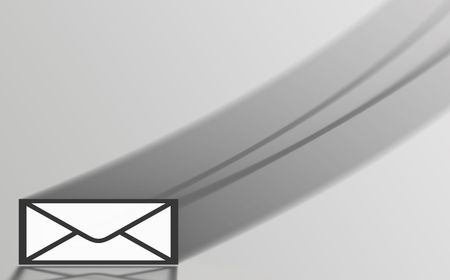 white envelope symbol photo
