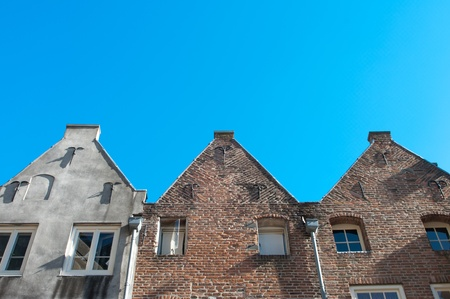 facades of monumental houses in Nijmegen, Netherlands Stock Photo - 9252745