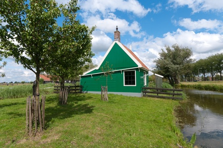 typical dutch houses in the Zaanse Schans north to Amsterdam Stock Photo - 10086025