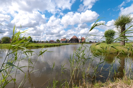 typical dutch polder landscape north of amsterdam Stock Photo - 10086023