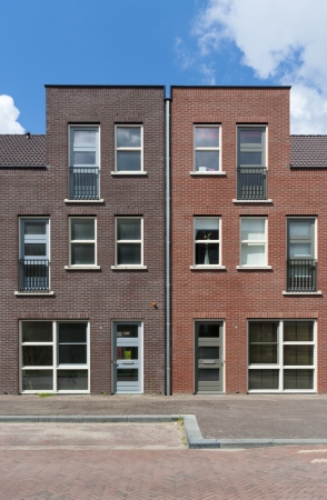 newly build town houses in Almere, Netherlands