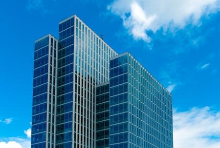 business building: modern scyscrapers in Almere, Netherlands