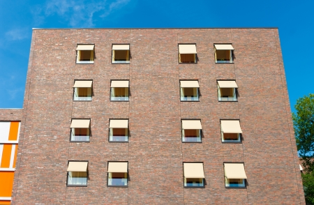 exterior of a modern retirement apartment building with blinds Stock Photo - 17118523