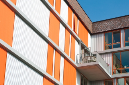 exterior of a modern retirement apartment building Stock Photo - 17118517