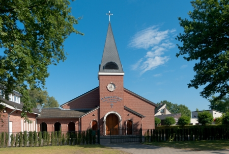 syrian orthodox church in Oldenzaal, Netherlands Stock Photo - 17525363
