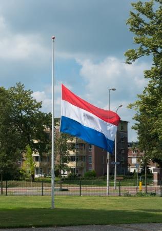dignity: half mast dutch flag