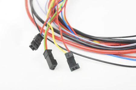 conectores: conjunto de conectores el�ctricos del coche