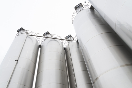 big bin: industrial silos for the food processing industry